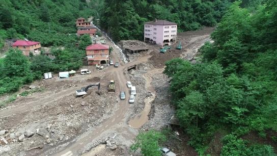 Araklı Çamlıktepe mahallesi boşaltılıyor!